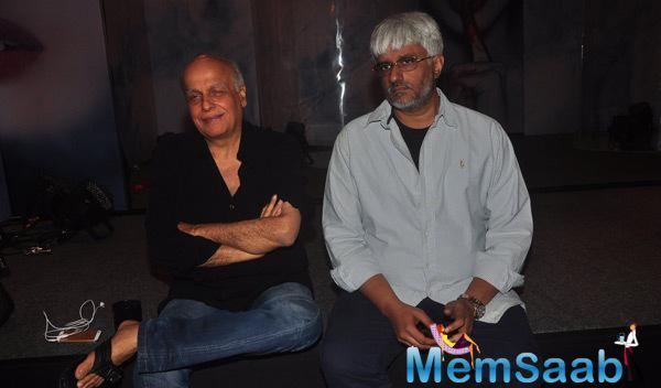 Mahesh Bhatt And Vikram Bhatt Celebrating For The Success Of Khamoshiyan Songs