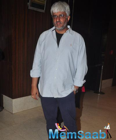 Vikram Bhatt Strike A Pose For Shutterbugs At The Launch Of Song Bheegh Loon