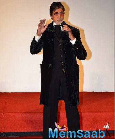 Amitabh Bachchan Spoke About The Movie Shamitabh At The Trailer Launch