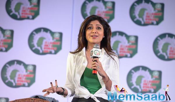 Shilpa Shetty Spoke Few Words About The National Survey