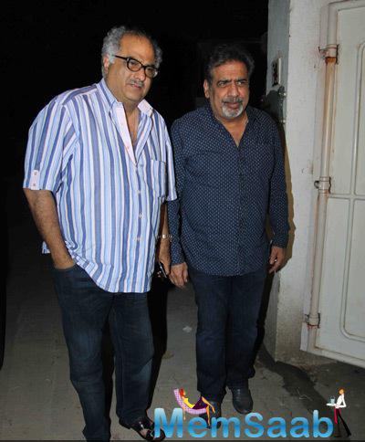 Boney Kapoor Arrived The Special Screening Of Tevar Movie