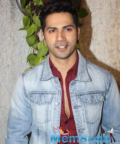 Varun Dhawan Handsome Stunning Look During The Screening Of Tevar