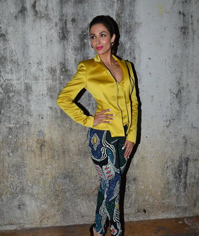 Malaika Strikes A Stunning Pose For Event Of DKD Music Launch