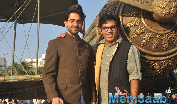 Ayushmann Is All Set For The Promotion Of His Upcoming Movie Hawaizaada'
