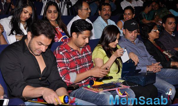 Sohail,Vatsal And Alvira Judged The Performances At DY Patil International School