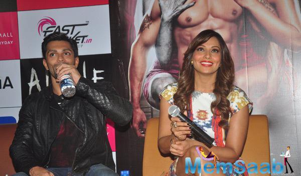 Karan Singh Grover And Bipasha Basu Promote Their Alone Movie