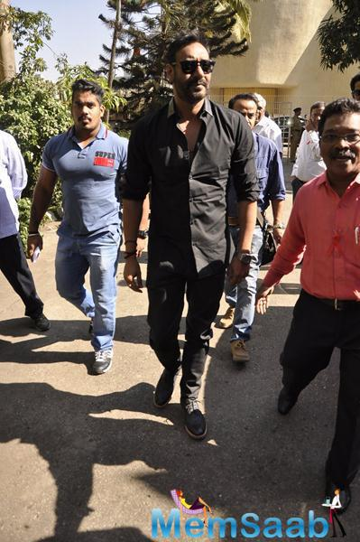 Ajay Devgan Attended The National Youth Day