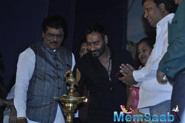 Ajay Devgan Inaugurate's National Youth Day