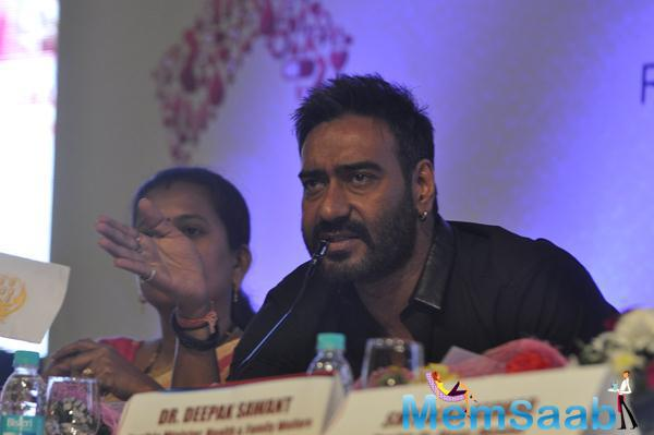 Ajay Devgan Speaks During The National Youth Day Event