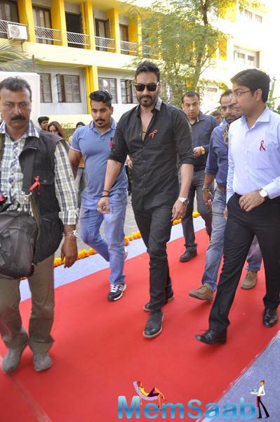 Ajay Devgan Spotted At National Youth Day Event