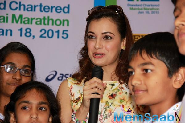Dia Mirza Attended An Event To Extend Her Support To Swades NGO
