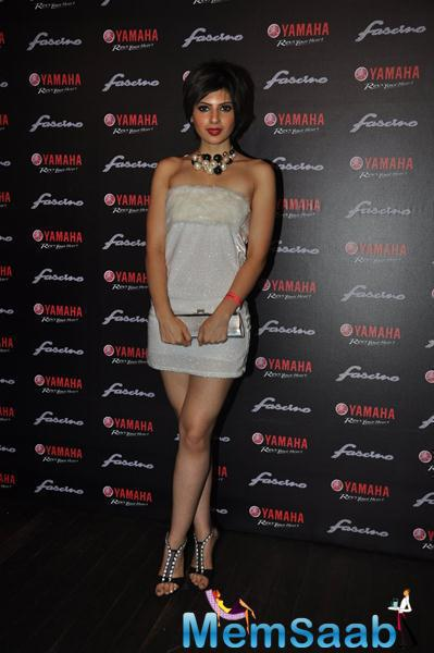 Celebs Attend The Launch Of Yamaha Fascino 2015 Calendar