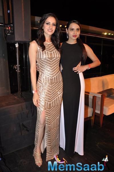 Miss India World, Koyal Rana With Miss United Continents First Runner Up, Gail Da Silva