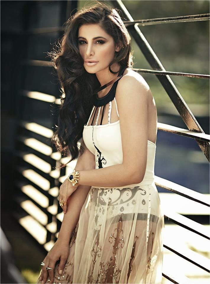 Nargis Fakhri Crazy Look Shoot For Latest Issue Of Noblesse Magazine