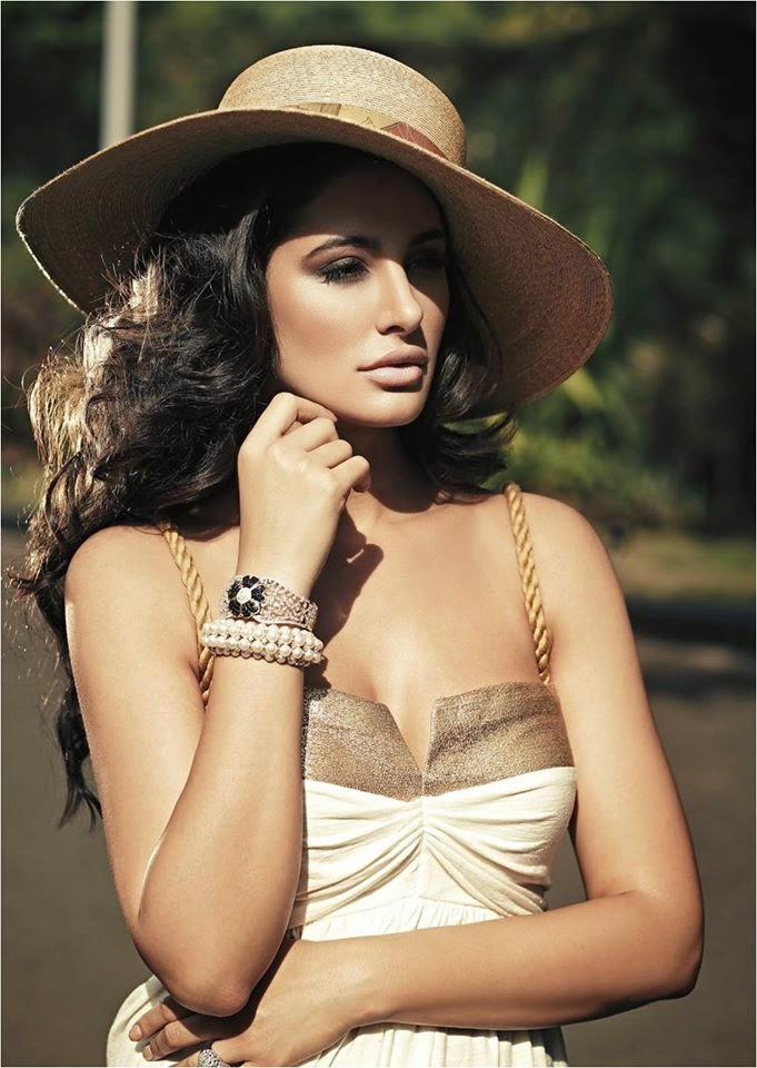 Nargis Fakhri Hot And Sexy Look Photo Shoot For Noblesse Magazine January 2015 Issue