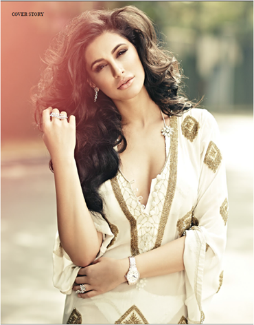 Nargis Fakhri Looks Elegantly On Noblesse India January Issue