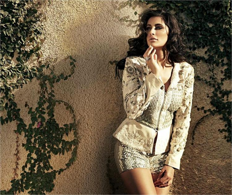 Nargis Fakhri Looks Ravishing On Noblesse Magazine January 2015