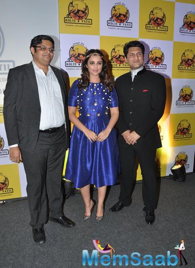 Actress Parineeti Chopra Launched The KPDL Mobile App In Mumbai