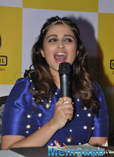 Parineeti Chopra Interacted With The Media During KPDL Mobile App Launch