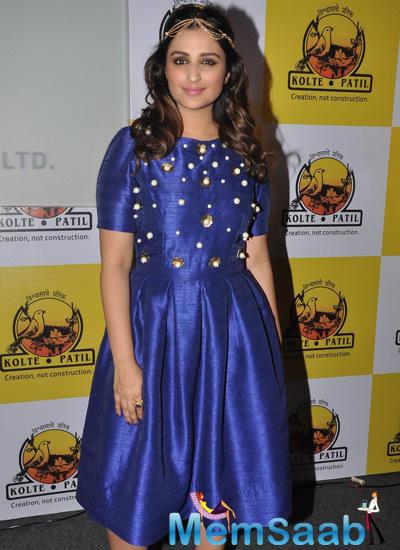 Parineeti Chopra Looks Stunning At The Launch Of KPDL Mobile App