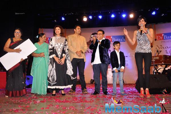 Mandira Bedi Addresses Dr. Mukesh Batra's Concert