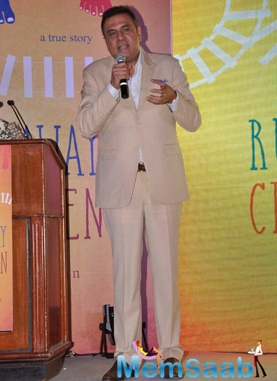 Boman Irani At The Launch Of S. Hariharan's Book Runaway Children