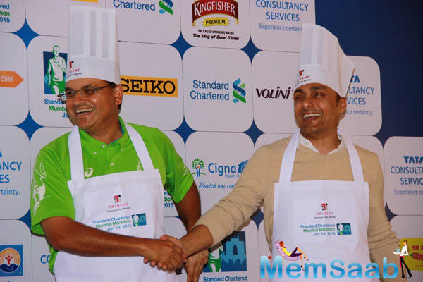 Rahul Bose Bose Snapped In All New Chef Avatar At SCMM Event