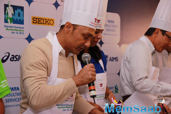 Rahul Bose Describing The Pasta Cooking Event