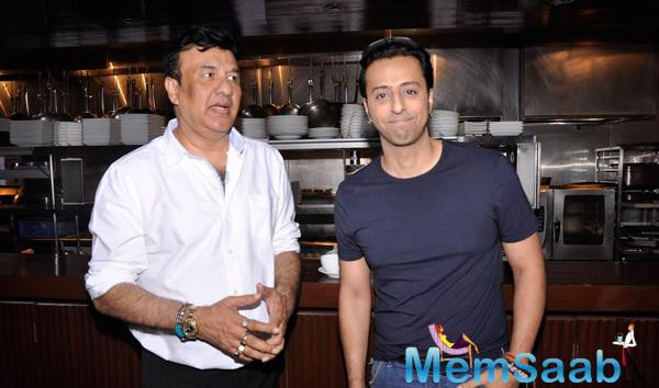 Anu Malik And Salim Merchant At The Launch Of New Reality Show India Digital Superstar