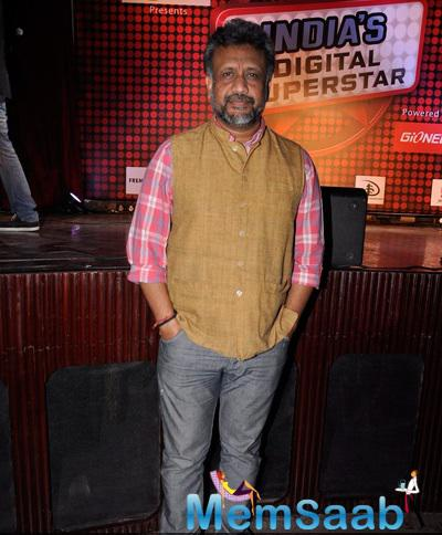 Anubhav Sinha Posed For Camera During The Launch Of New Reality Show India Digital Superstar