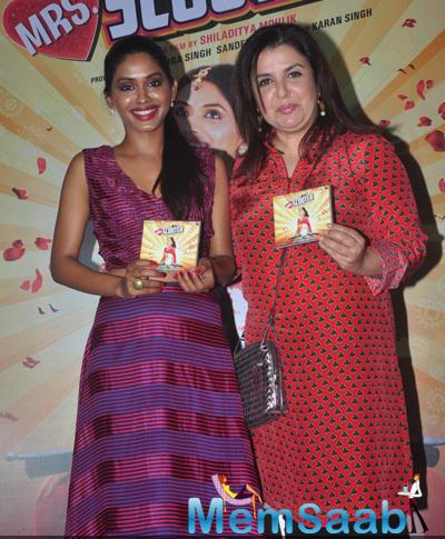 Anjali Patil And Farah Khan Unveil First Look And Music Of Mrs. Scooter
