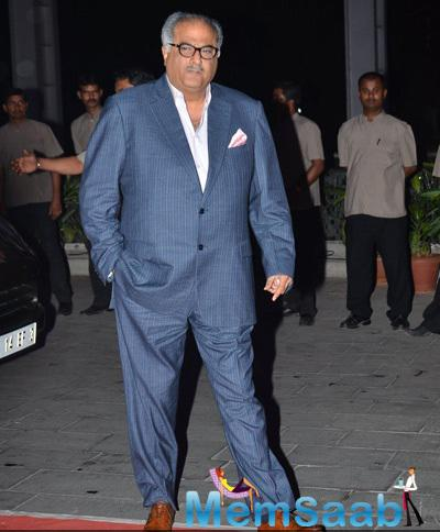 Boney Kapoor Attend Kush Sinha Wedding Reception