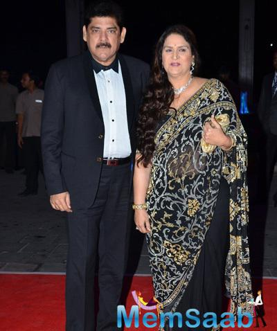 Pankaj Dheer Graced At Kush Sinha Wedding Reception