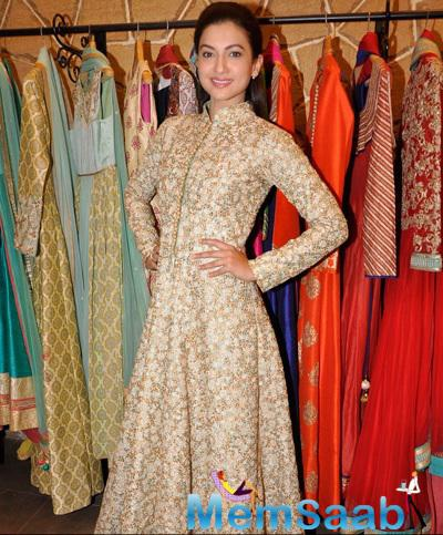 Gauhar Khan Gorgeous Look During The Launch Of The Hue Multi-Designer Store