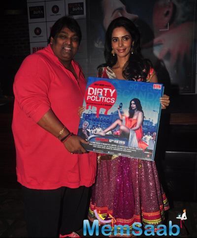 Ganesh Acharya And Mallika Sherawat Launched Dirty Politics Music
