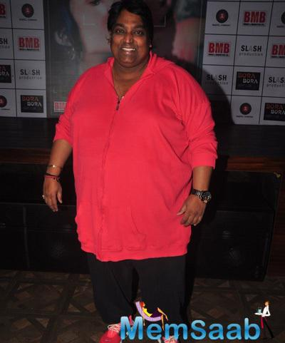 Ganesh Acharya Smiling Pose During The Music Launch Of Dirty Politics