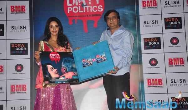 Mallika Sherawat Launches The Music Of Upcoming Movie Dirty Politics