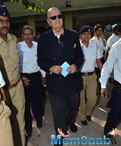 Prem Chopra Arrived At The International Conference On Commerce And Management