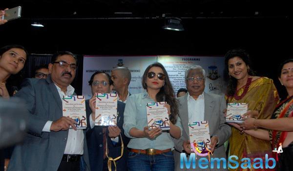 Rani Mukerji Felicitated By Mumbai University