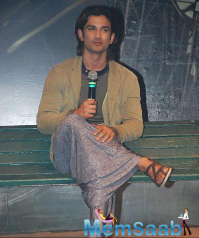 Sushant Singh Rajput Interact With Media During The Trailer Launch Of Detective Byomkesh Bakshy
