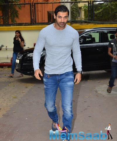 John Abraham Arrived At The Launch Of In Search Of Dignity And Justice Book