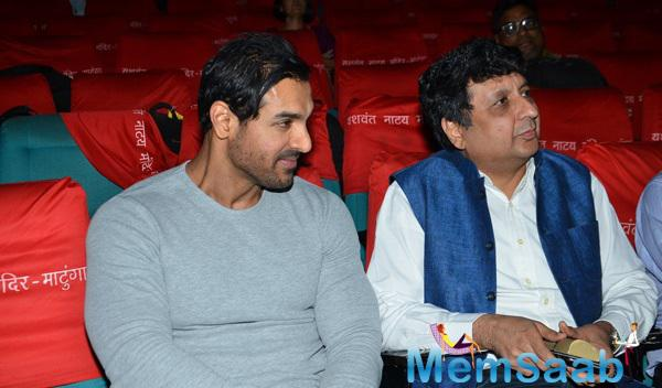 John Abraham Spotted During The Launch Of In Search Of Dignity And Justice Book