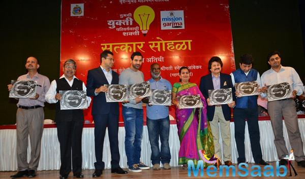 John Abraham,Pankaj Udhas And Others Launched In Search Of Dignity And Justice Book