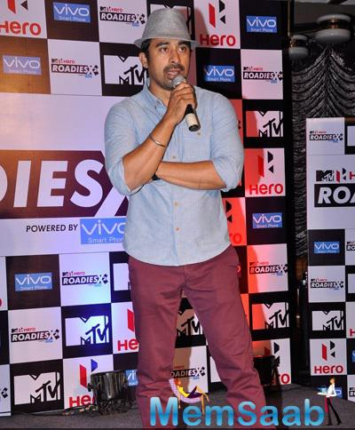 Rannvijay Singh Spoke Few Words During MTV Hero Roadies X2 Press Meet