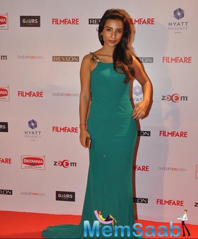Patralekha In Cavalli Gown Trendy Look At 60th Britannia Filmfare Pre-Awards Night Bash