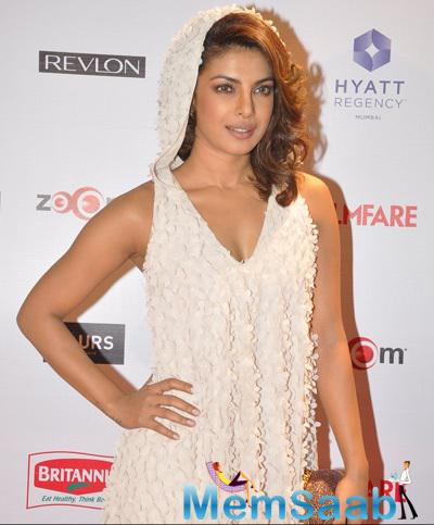 Priyanka Chopra Looked Angelic At 60th Britannia Filmfare Pre-Awards Night Bash