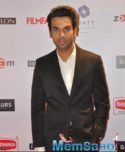 Rajkummar Rao Graced At 60th Britannia Filmfare Pre-Awards Night Bash