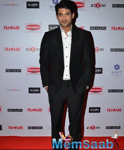 Siddharth Shukla Attend The 60th Britannia Filmfare Pre-Awards Night Bash