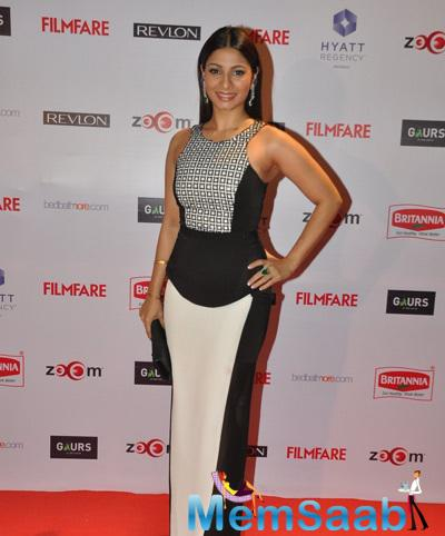 Tanishaa Mukerji Hot Look At 60th Britannia Filmfare Pre-Awards Night Bash