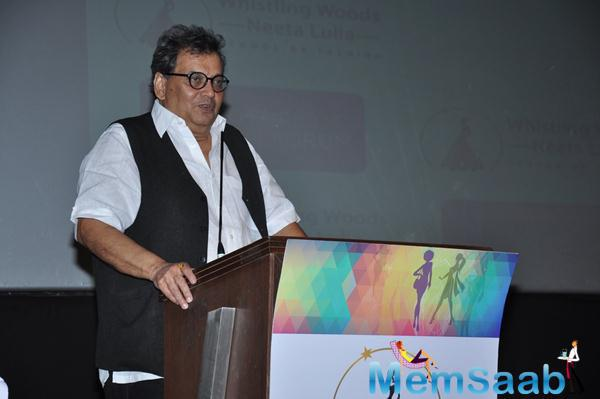 Subhash Ghai Spoke Some Words On The Eve Of His 70th Birthday At Whistling Woods